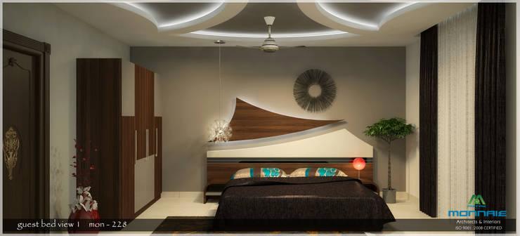 Contemporary Interior Design:  Bedroom by Premdas Krishna
