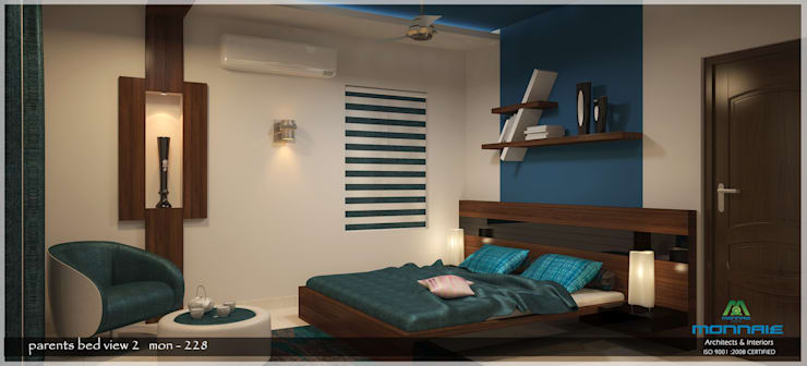Contemporary Interior Design: modern Bedroom by Premdas Krishna