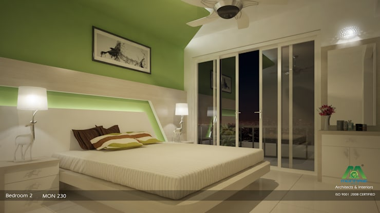 Bedroom: modern Bedroom by Premdas Krishna