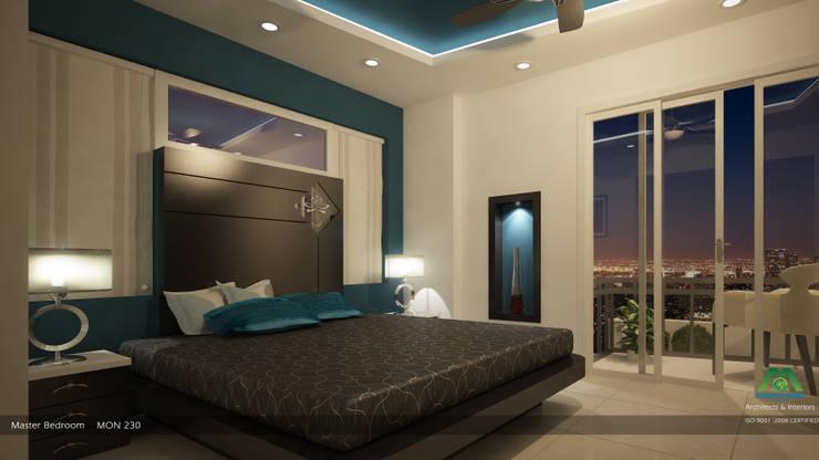 Modern Contemporary Interior Design:  Bedroom by Premdas Krishna