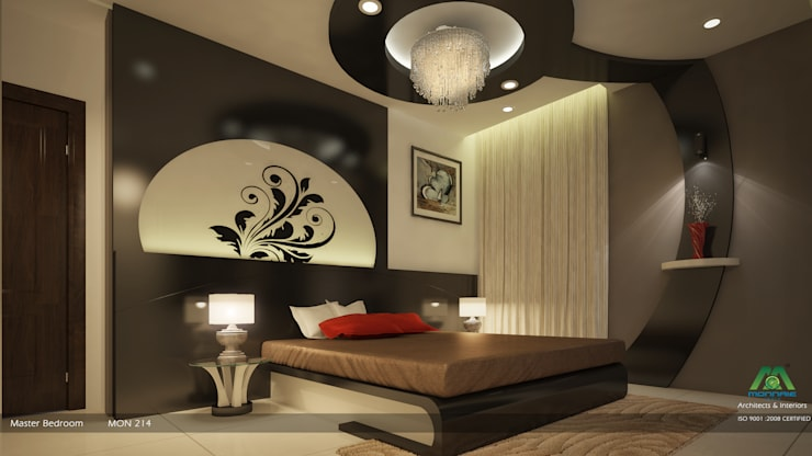 Impressive contemporary style: modern Bedroom by Premdas Krishna