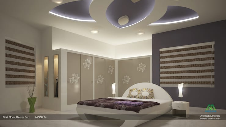 Master Bedroom:  Bedroom by Premdas Krishna