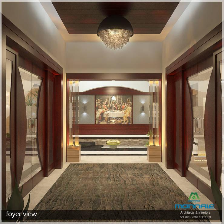 Foyer:  Corridor & hallway by Premdas Krishna