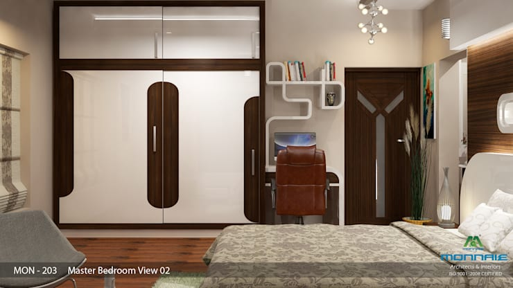 Indian Contemporary Design:  Bedroom by Premdas Krishna