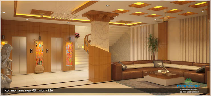 Beauty of Traditional Interior Design:  Commercial Spaces by Premdas Krishna