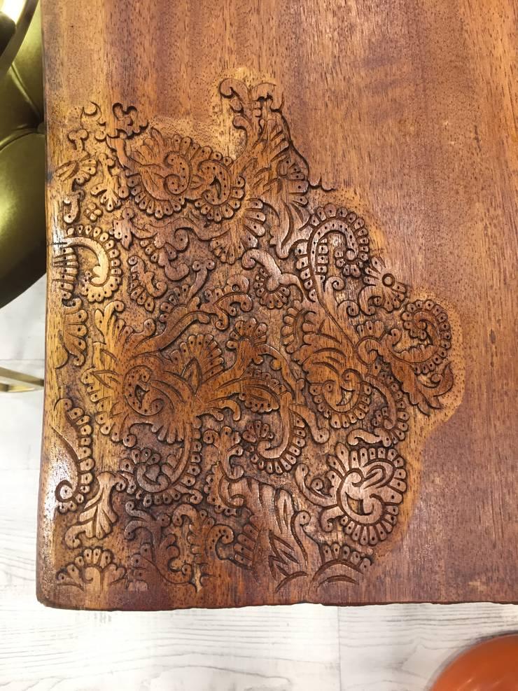 Murat Topuz Atelier – wood oriental:  tarz , Endüstriyel