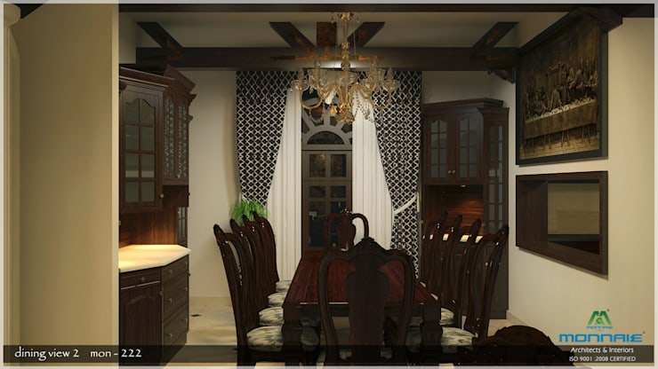 Dining room: asian Dining room by Premdas Krishna