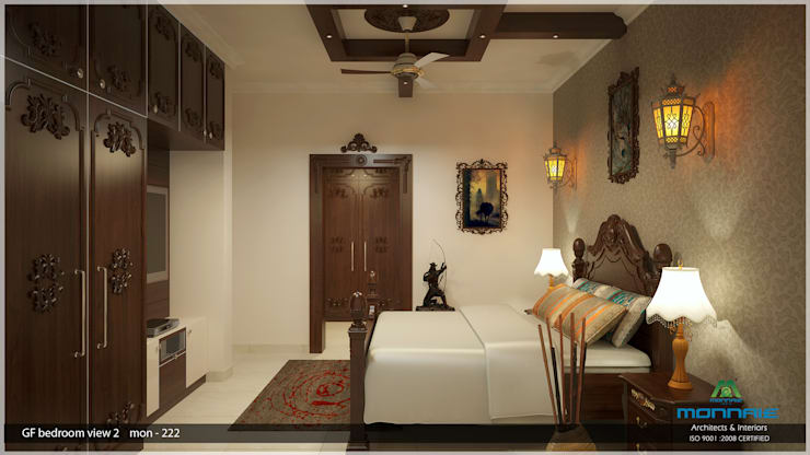 Bedroom:  Bedroom by Premdas Krishna