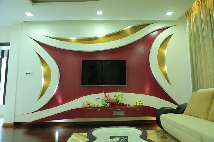 Nowoczesny salon od Premdas Krishna Nowoczesny