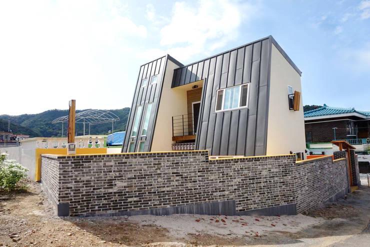 Projekty,  Domy zaprojektowane przez 꿈꾸는목수