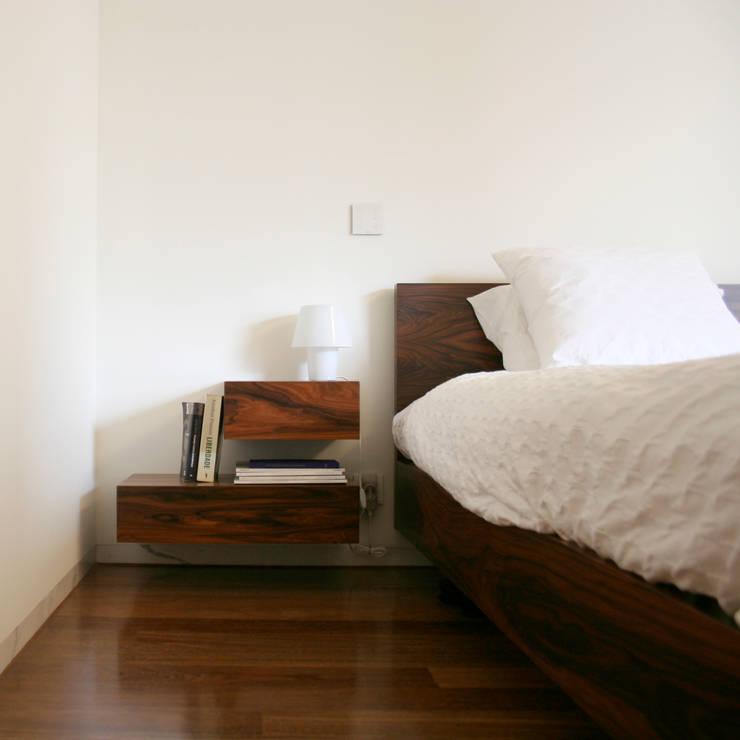 Apartamento Bartolomeu Velho: Quarto  por Diana Vieira da Silva Arquitectura e Design