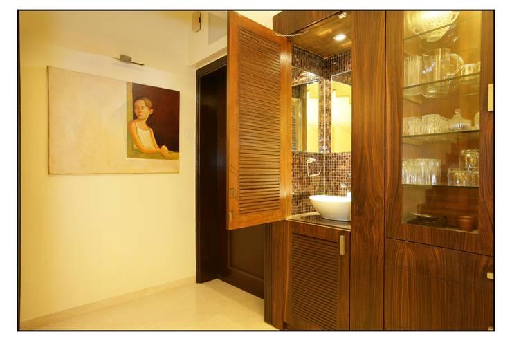 Baños de estilo  por Navmiti Designs
