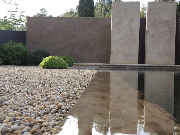 Une baignade naturelle: Jardin de style  par JARDIN GECKO