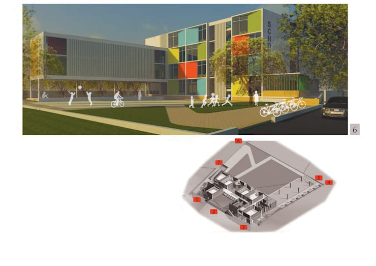 Nurture International School, Bangalore: minimalist  by RnG Architects,Minimalist