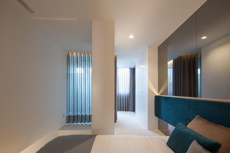 Apartamento da Póvoa:   por nby - concept&project, lda