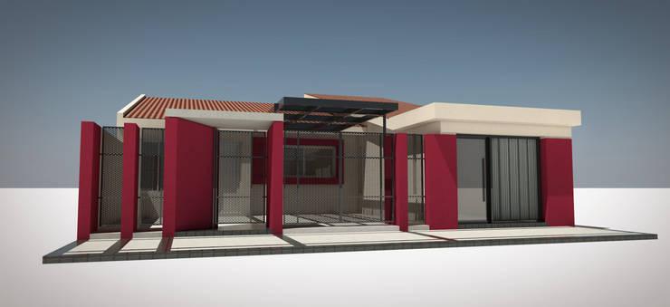 Reforma de fachada:  de estilo  por Arquitecto Juan Nicolás Bobba