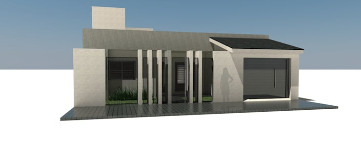 Reforma de fachada y ampliacion:  de estilo  por Arquitecto Juan Nicolás Bobba