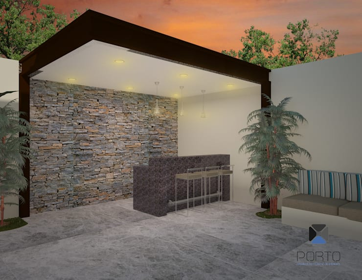 de style  par PORTO Arquitectura + Diseño de Interiores