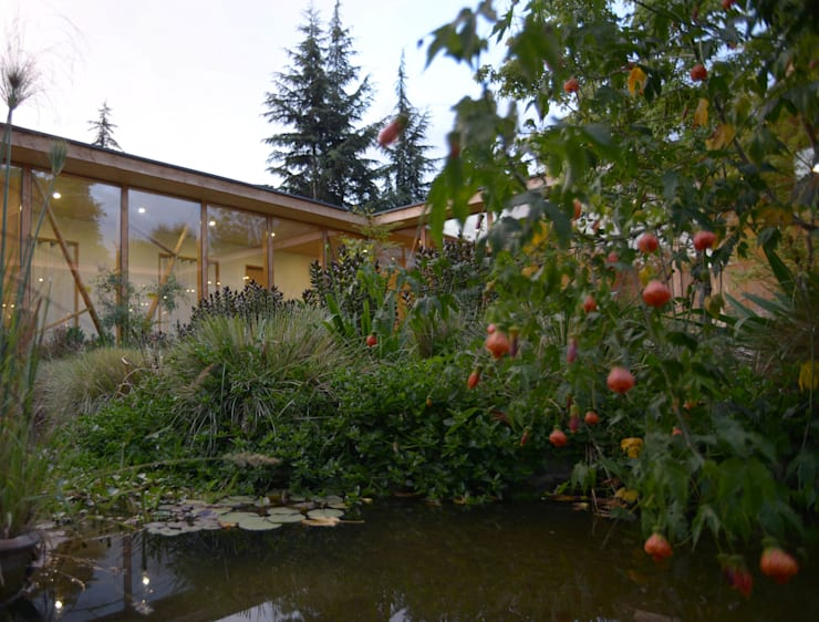 Jardines de estilo  por PhilippeGameArquitectos