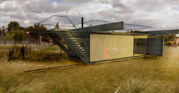 Refugio de día / Bahia Blanca / Bs. As.: Casas de estilo  por juan olea arquitecto