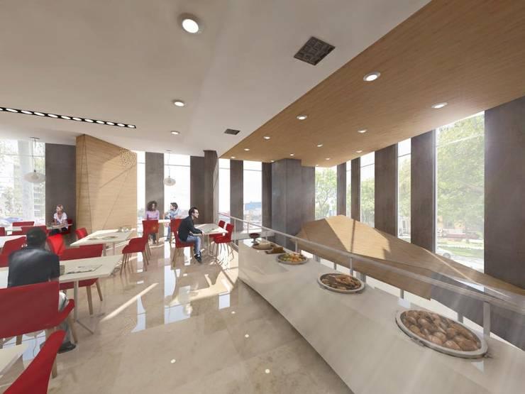 Diseño Cheng+Franco Arquitectos:  de estilo  por Ctrl+,