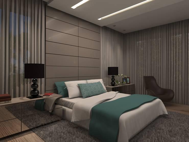 Dormitorios de estilo  por Concepto Design