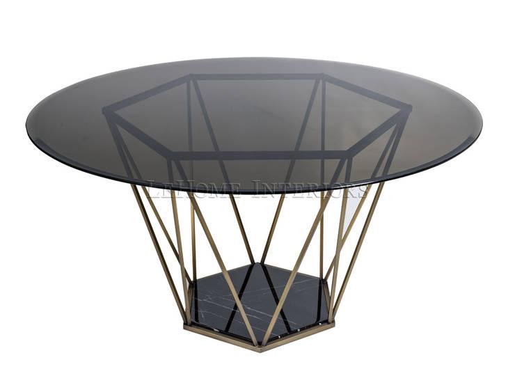 Обеденный стол T149:  в современный. Автор – LeHome Interiors, Модерн