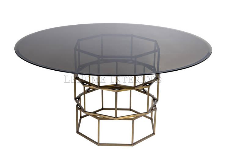Обеденный стол T152:  в современный. Автор – LeHome Interiors, Модерн