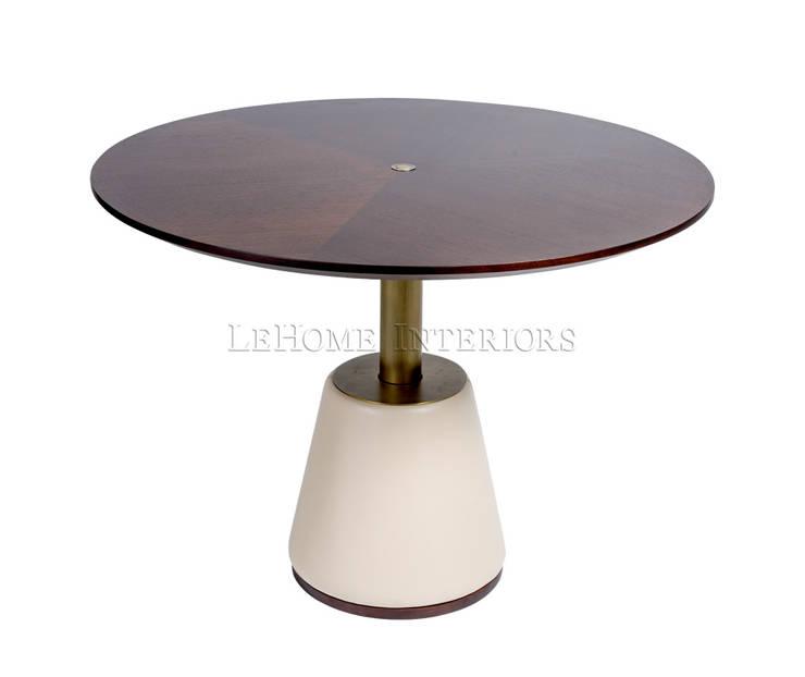 Обеденный стол T160:  в современный. Автор – LeHome Interiors, Модерн