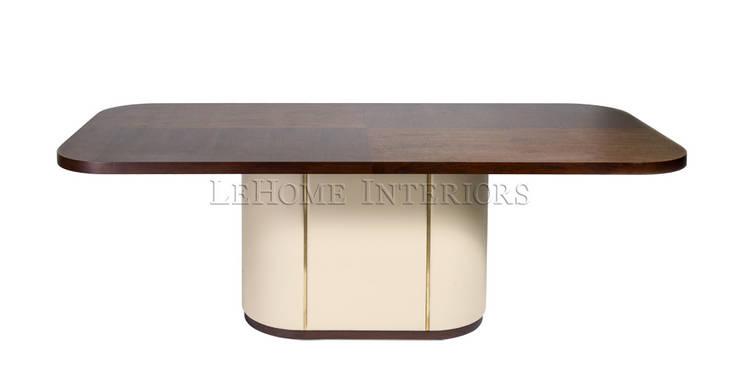 Обеденный стол T168:  в современный. Автор – LeHome Interiors, Модерн