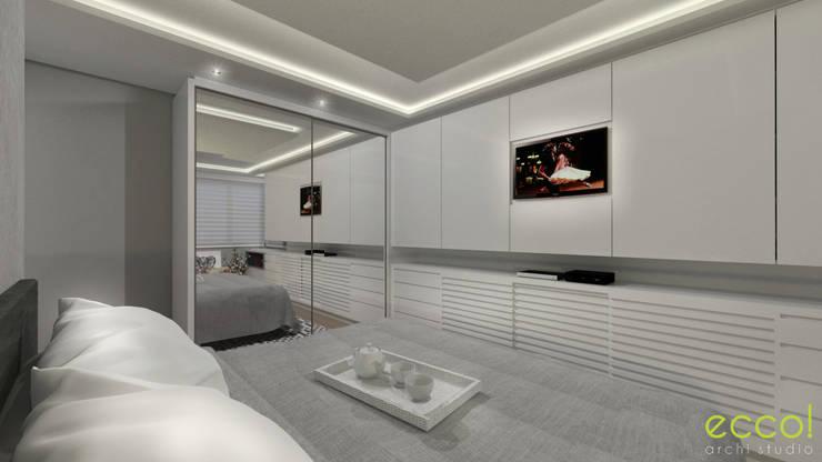 Dormitorios de estilo  por ecco! archi sudio