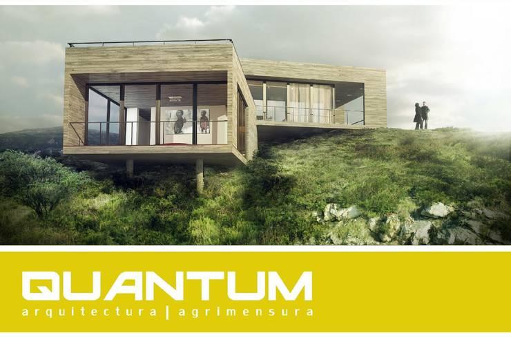 Casas de estilo  por Betiana Denardi | Arquitecta, Minimalista Concreto