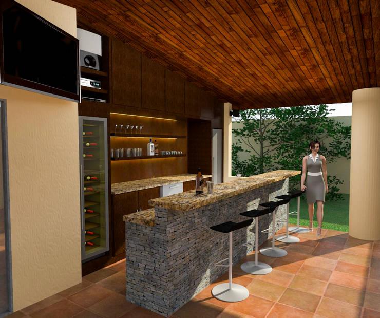 Idea y Propuesta 3D: Casas de estilo  por José D'Alessandro