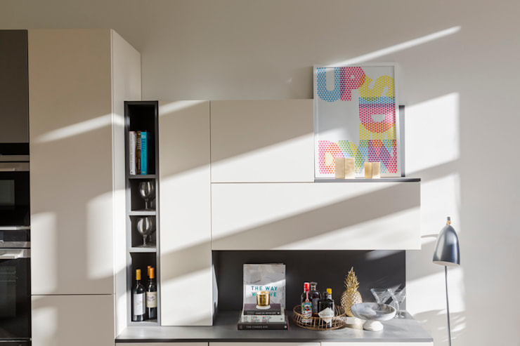 Storage: modern Kitchen by Frank and Faber