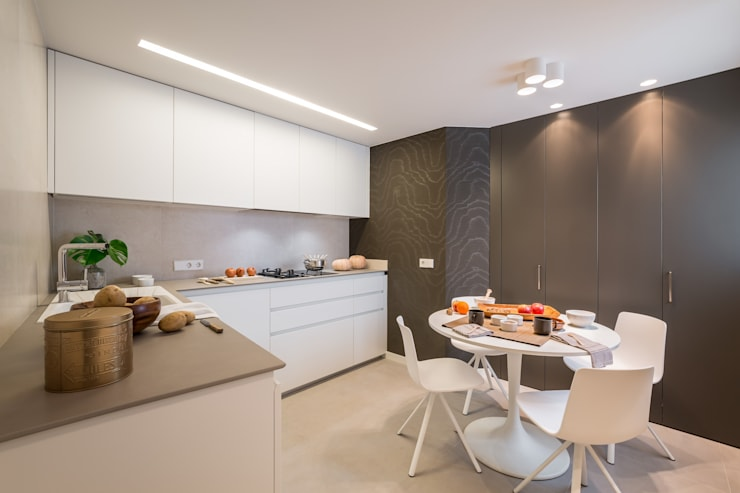Кухни в . Автор – Laura Yerpes Estudio de Interiorismo, Модерн
