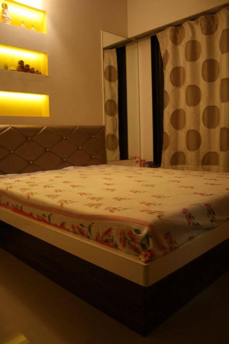 Serendipity: modern Bedroom by Neha Changwani