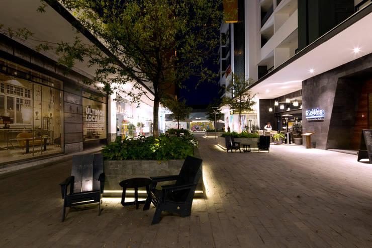 Nuevo Sur : Jardines de estilo  por Grow Arquitectos