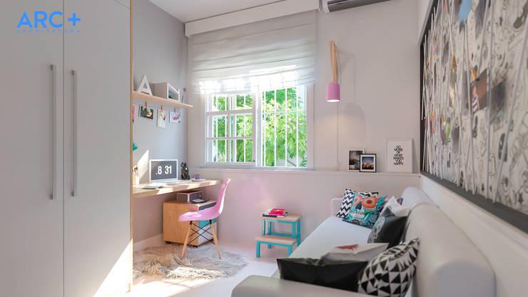 Детские комнаты в . Автор – ARC+ Arquitetura