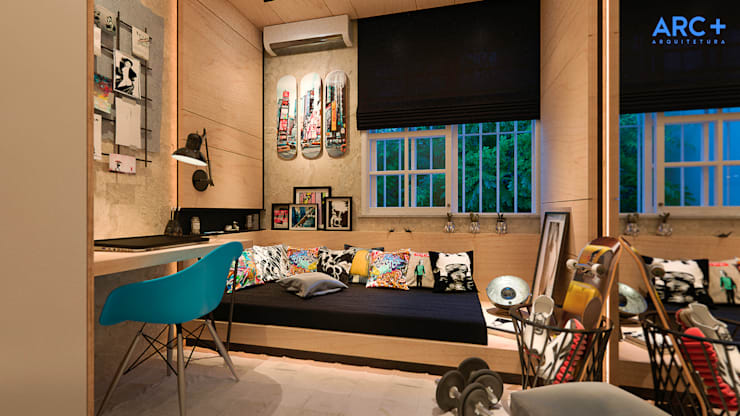 Dormitorios infantiles de estilo  por ARC+ Arquitetura
