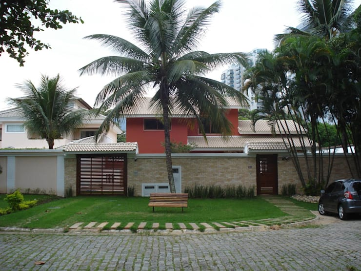 Casas de estilo  por GEA Arquitetura