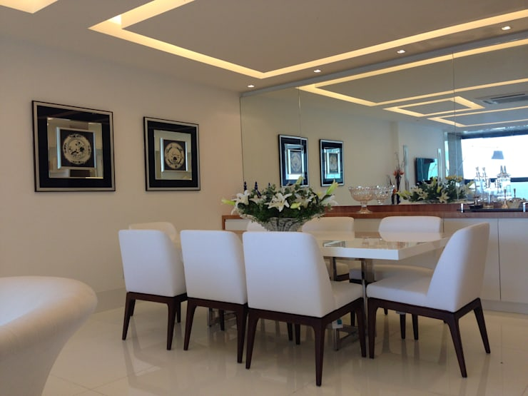 Dining room by GEA Arquitetura
