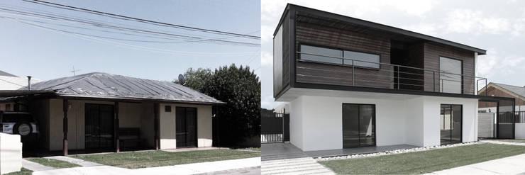 de estilo  por Landeros & Charles Architects
