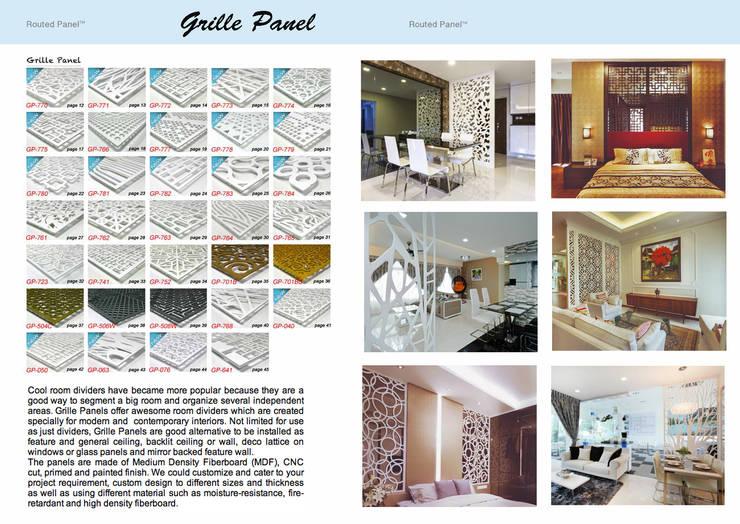 Wall Divider Screen:  Walls & flooring by series supplies