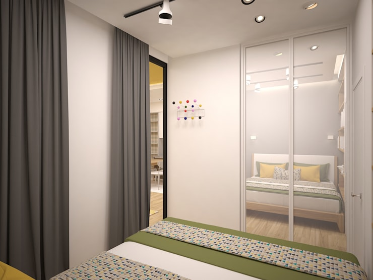 Bedroom by 16dots