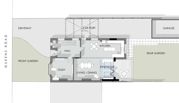 Ground Floor Plan:   by Artform Architects