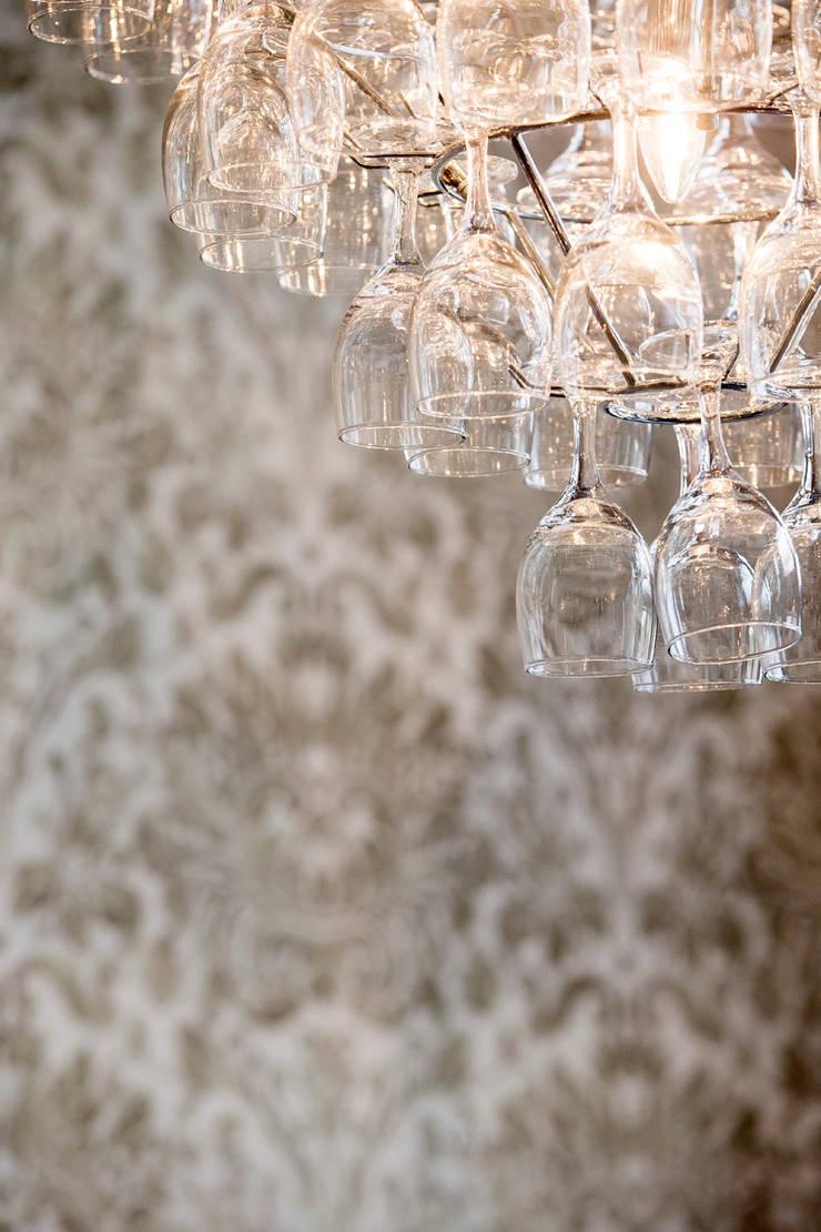 Detail verlichting restaurant:  Hotels door All-In Living