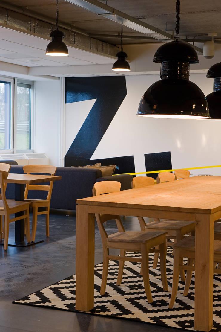 Brasserie Verzamelkantoor Zoomers:  Gastronomie door All-In Living