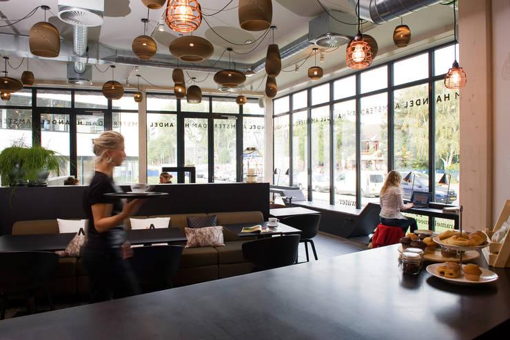 Interieur architectuur Handel Amsterdam:  Kantoorgebouwen door All-In Living