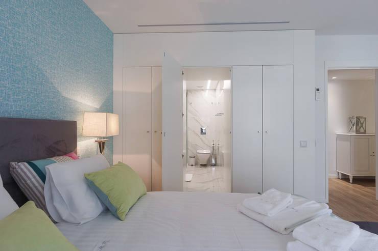 Dormitorios de estilo moderno de Zenaida Lima Fotografia