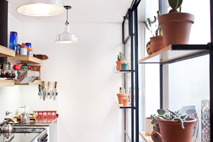 Cozinhas modernas por CA.ZA